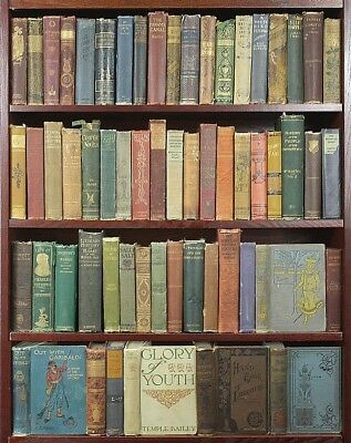 Job Lot of 40 Vintage Books  *QUALITY* Antique Cloth & Ornate Spines Generic