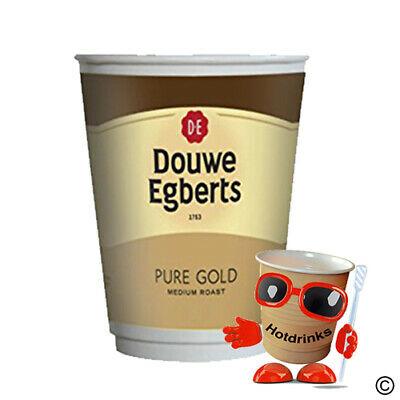Douwe Egberts Coffee, 2Go In Cup Drinks, 12oz Foil Sealed [1 Sleeve of 10 Cups]