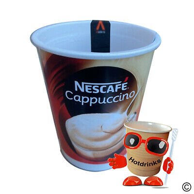 Nescafe Cappuccino 2Go In Cup Drinks, 76mm, Foil Sealed - 'CoolCups' [10 Cups]
