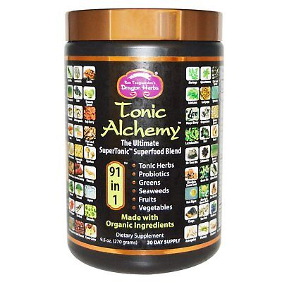 Tonic Alchemy, Ultimate Superfood Blend , 9.5 oz (270 g) - Dragon Herbs