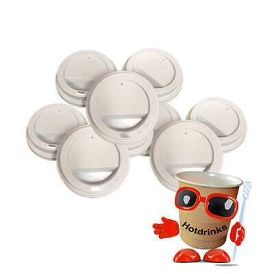 2Go Sip Thru' Lids, 12oz - Fit: 2Go Foil Sealed In Cup, Incup Drinks Only