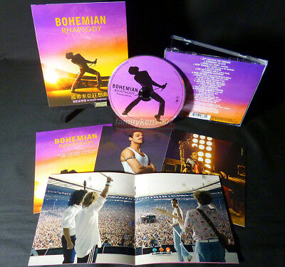 QUEEN Bohemian Rhapsody OST 2018 Taiwan CD+Cards NEW Freddie Mercury David Bowie