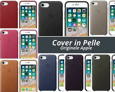 cover iphone 7 apple pelle