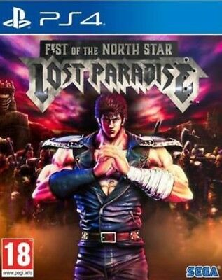 Videogames Ps4 Fist Of The North Star Lost Paradise Kenshiro Edition Dvd Ita