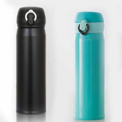400ML Vacuum Cup Stainless Steel Water Bottle Insulation Cup Warming Keep Pot CO