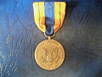 original New York State Militia medal for Aid of Civil Authorities with ribbon
