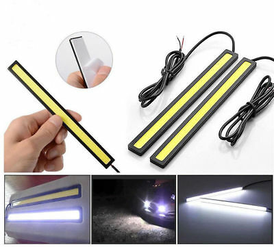 17cm 12V-LED COB Car Auto DRL Driving Daytime Running Lamp Fog Lights Waterproof