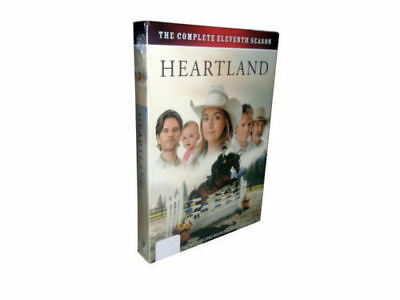 Heartland Season 11 (DVD, 2018, 5-Disc Set)brand new Free shipping