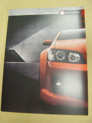 Holden Commodore Ve Brochure 8 2006 Booklet Good Condition Comve0706Ad12064