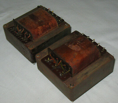 2 german Vintage output Transformer PP Tube Amp EL34 PushPull ca 60 Watt 2