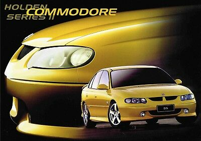 Holden Commodore Vxii Brochure 3 2002 Inc Ss Ad10917 Good Condition