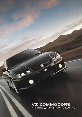 Holden Commodore Vz What The Press Say Brochure 2005 Ad11615 Excellent Cond