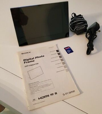 "Sony DPF- V700 7""Digital Picture Frame"