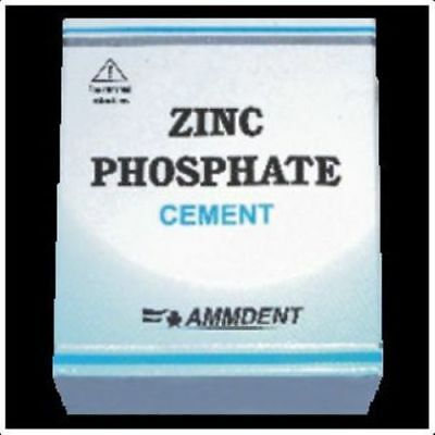 PERMANENT TOOTH FILLING DENTAL CEMENT KIT Zinc Phosphate Cement ZINC F+ EB