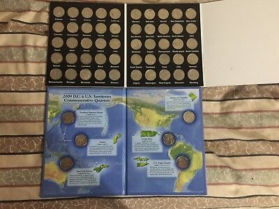 50 coin state quarter set and 6 coin territory set