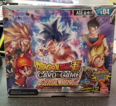 Dragon Ball Super Colossal Warfare Sealed Booster Box - 24 Packs