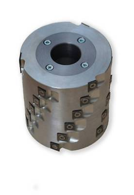 Spiral Cutter Head for Wood Jointer Planer. D=80mm B=86mm Rows of Knives - 6