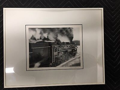 Steam Locomotive Photograph by Jay Williams - Signed and Numbered