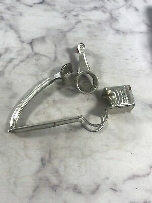 Vintage Metal MOULI Rotary Hand Crank Grater Made in France Kitchen Collectible