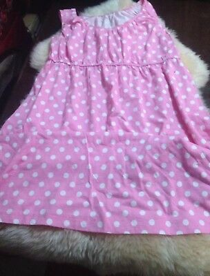 baby be mine maternity Mommy And Baby Girl Set/Pink Polka Dots Size Large