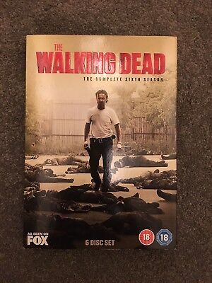 The Walking Dead - Season 6 (2016 DVD)