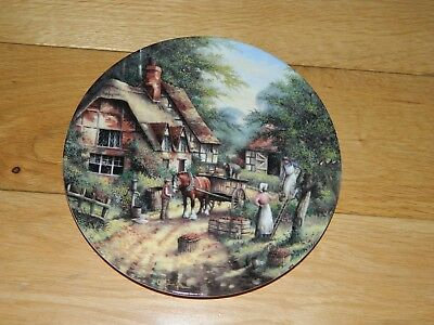 Wedgwood Country Days 'the Apple Pickers'  Collectors' Plate In Fine Bone China