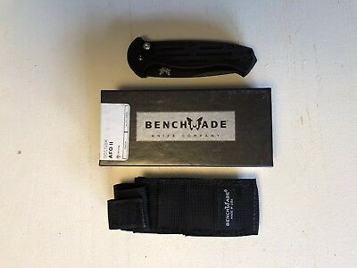 Benchmade 9051SBK AFO II Tactical Knife - Brand New In Box