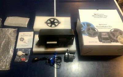 "Wolverine MovieMaker-PRO: Up to 9"" 8mm/Super 8 convert to digital. BARELY USED!!"