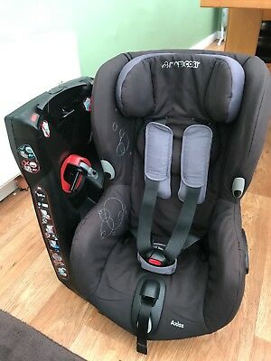 Maxi-Cosi Axiss rotating child car seat 9mth-4yrs black very good condition