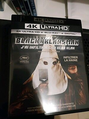 4K + Blu Ray Digital Blackkklansman