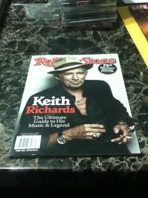 rolling stone magazine keith richards cover 75th birthday edition issue #87