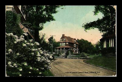 Dr Jim Stamps Us Lowerre Summit Park New York View Postcard