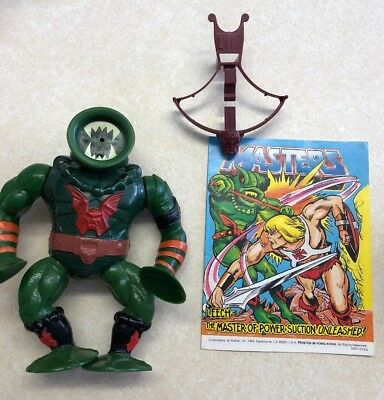Leech Masters Of The Universe Action Figure Vintage With Mini Comic