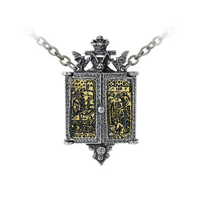 "Alchemy Gothic P826 - BALKIN TRIPTYCH ICON 21"" LOCKET"