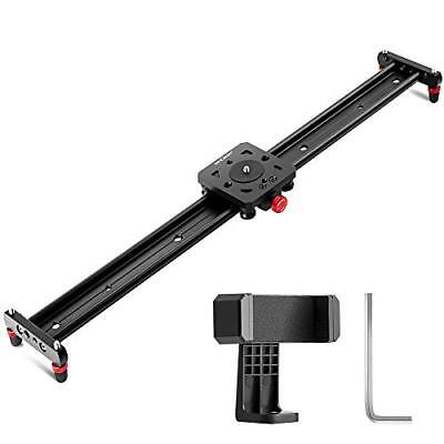 K&F Concept 31.5''/80cm Kamera Video Slider Track Dolly kameraschiene Vid...