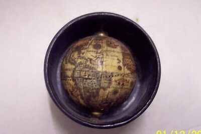 MIniature Boxed World Globe, c1920s (?)