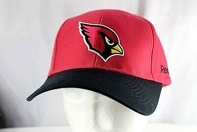 912a5044 ARIZONA CARDINALS RED/BLACK NFL Baseball Cap Adjustable