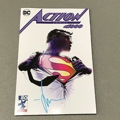 ACTION COMICS #1000 LIMITED EDITION EXCLUSIVE JOCK VARIANT SIGNED Superman DC