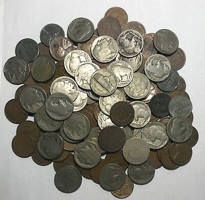 Estate Lot ***71 Old U.s. Coins Plus Type 1 Buff*** L@@k At Pictures!!!!!  #3480