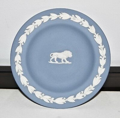 Wedgwood Jasperware Miniature Plate with Lyon Motif