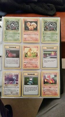 Pokemon Lot of 38 First Edition Shadowless and Shadowless Cards Base Set