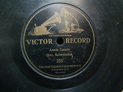Victor 7 inch Disc Record #235