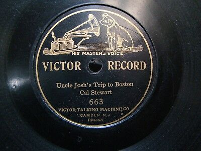 Victor 7 inch Disc Record #663