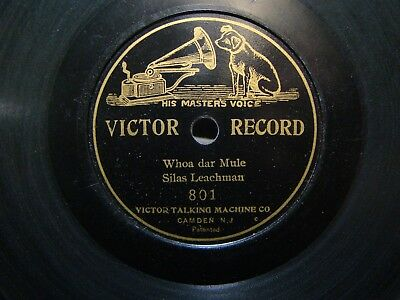 Victor 7 inch Disc Record #801