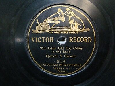 Victor 7 inch Disc Record #819