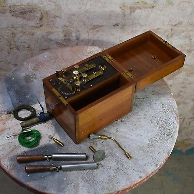 Antique nervous electric machine quirky scientifc instrument medical