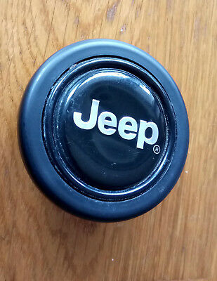 Jeep MOMO original horn button for sport rally racing steering wheel