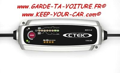 CTEK MXS 5.0 - 12 VOLTS 5 A CHARGEUR de batterie automatique / automatic charger