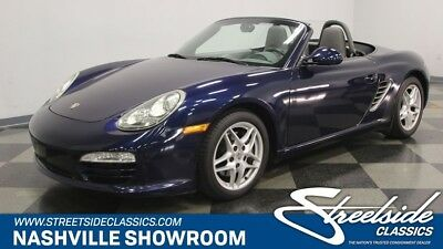 2009 Boxster -- 2009 Porsche Boxster  Convertible Flat 6 Cylinder Engine 2.9L/177 Automatic Clas