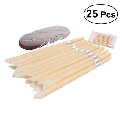 10Pcs Ear Wax Candle Ear Wax Remover with Plug Healthy Care Wax Removal with 5pc